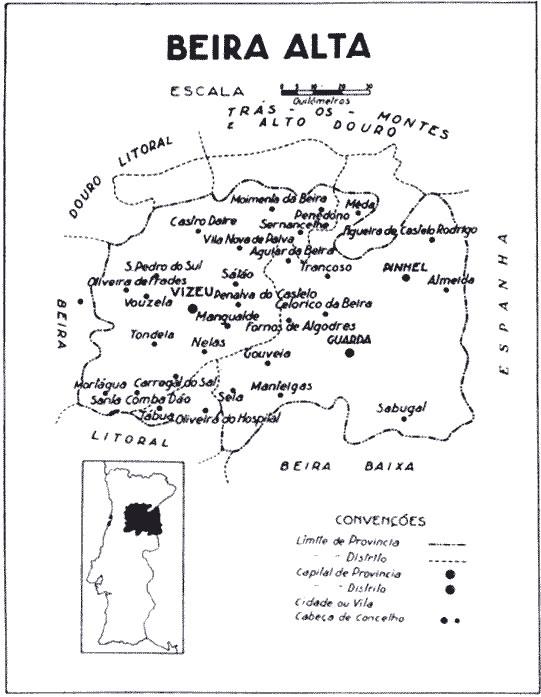 mapa de portugal beira alta PROVÍNCIAS DE PORTUGAL / beira_alta.gif mapa de portugal beira alta