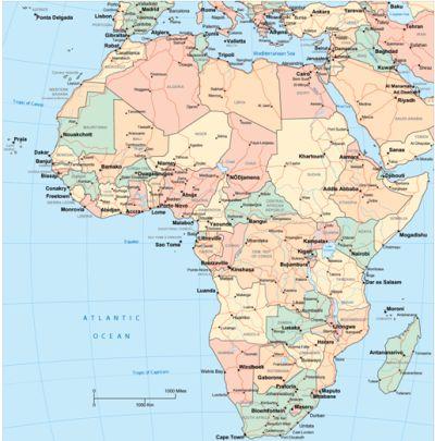 mapa de portugal e africa Revista TriploV de Artes, Religiões e Ciências mapa de portugal e africa